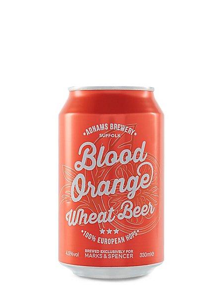 Blood Orange Wheat Beer - Cases of 20