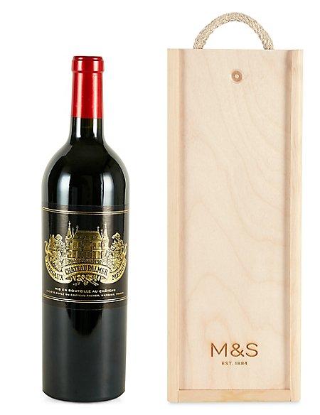 Château Palmer 2014 - Single Bottle with Wooden Presentation Box