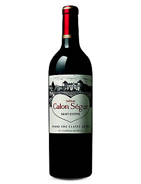 Chateau Calon Segur - Single Bottle with Wooden Presentation Box