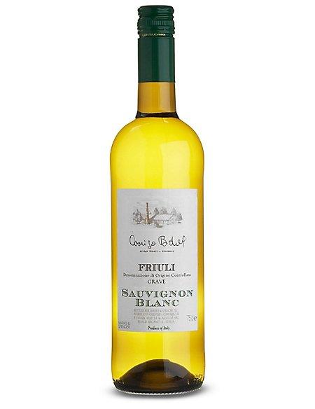 Friuli Grave Sauvignon Blanc - Case of 6