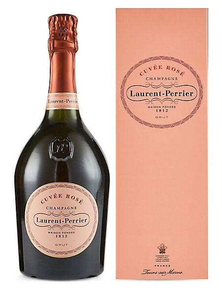 Laurent Perrier Rosé NV Champagne - Single Bottle
