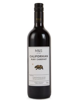 M&S Californian Ruby Cabernet 2017