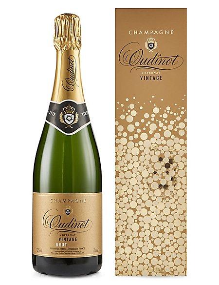 Champagne Oudinot Vintage - Single Bottle