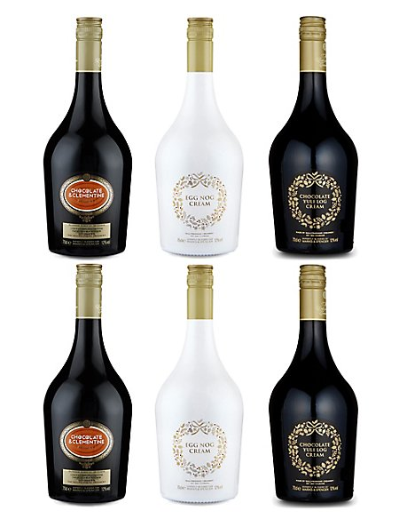 Cream Liqueurs Selection – Case of 6