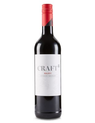 Craft 3 Malbec 2017, Argentina
