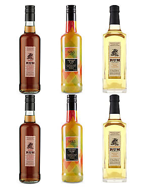 Flavoured Rums Selection - Case of 6