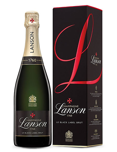 Lanson Black Label Brut - Single Bottle
