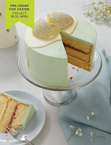 Easter Cracked Egg Cake - Serves 12 (Pre-order for Easter collection 18th-20th April)