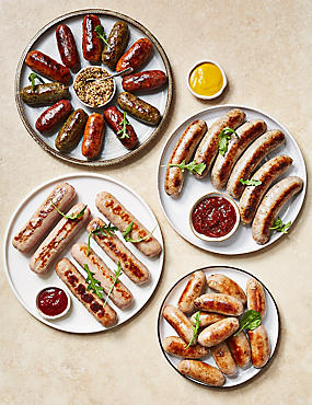 Sausage Selection (Serves 8)