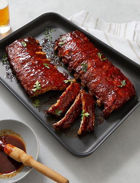 BBQ Pork Rib Racks - Serves 4