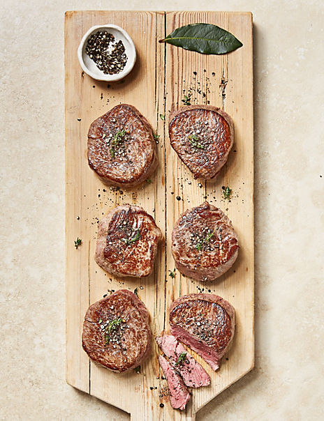 Aberdeen Angus Fillet Steaks (6 Pieces)