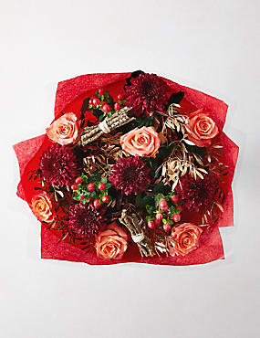 Winter Spice Flower Bouquet