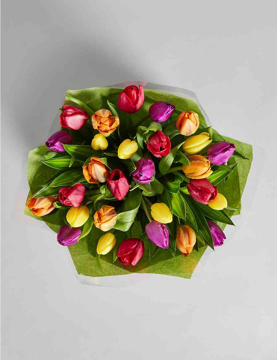 Large Spring Tulip Gift Bag Ms