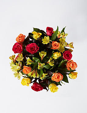 Contemporary Autumn Flower Bouquet