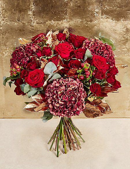 The Collection Christmas Festive Beauty Bouquet