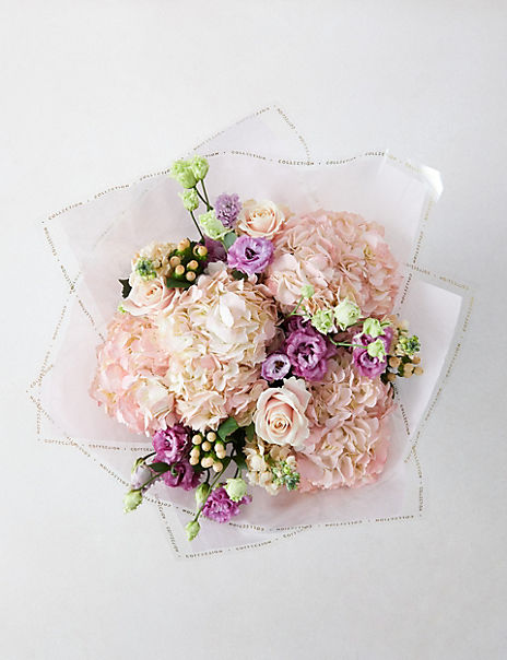 The Collection Wonderful Mum Flower Hat Box (Delivery from 17th March 2020)