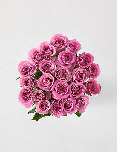 Fairtrade® Pink Rose Bouquet