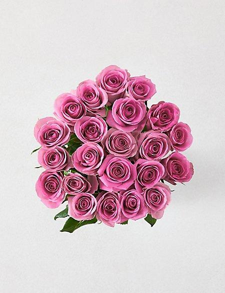 Fairtrade Pink Rose Bouquet M S