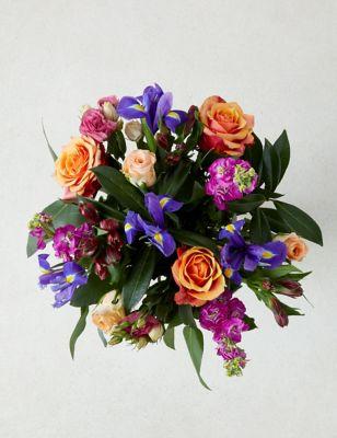 c107c5eeb Coral Rose Bouquet | M&S