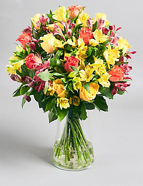 Fairtrade® Rose & Alstromeria Bouquet