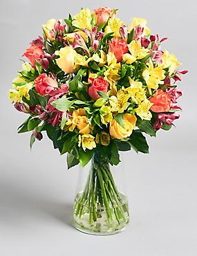 Fairtrade® Rose & Alstromeria Bouquet