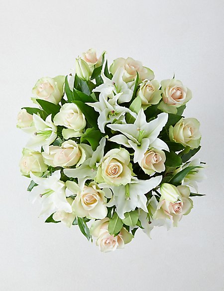 The Collection La Belle Rose & Lily Bouquet