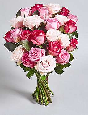 The Collection Pink Rose Bouquet