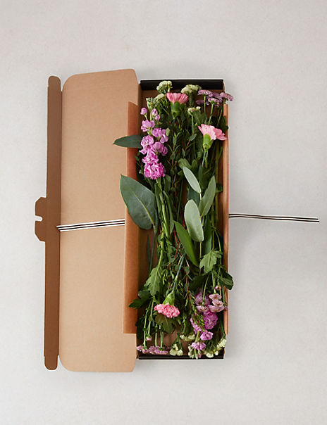 Scented Stocks & Chrysanthemum Letterbox Gift