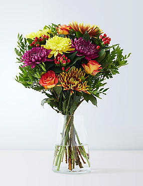 Bouquet of flowers free flower bouquet delivery ms autumn bloom bouquet mightylinksfo