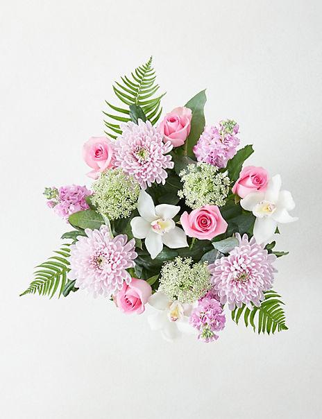 Collection Cymbidium Orchid Bouquet