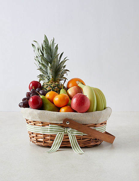Medium Fresh Fruit Basket (Serves Approx. 18)