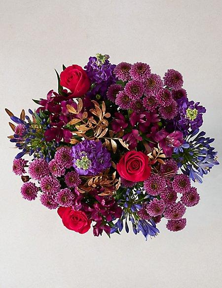 Happy New Year Flower Bouquet