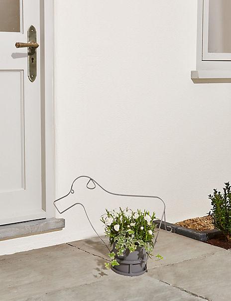 Novelty Dog Garden Planter