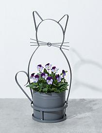 Garden Cat Planter