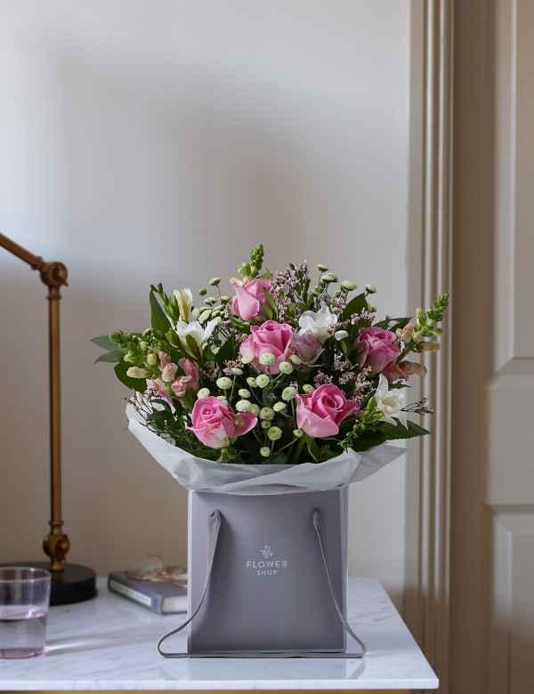 e3974de90825 Rose   Freesia Gift Bag