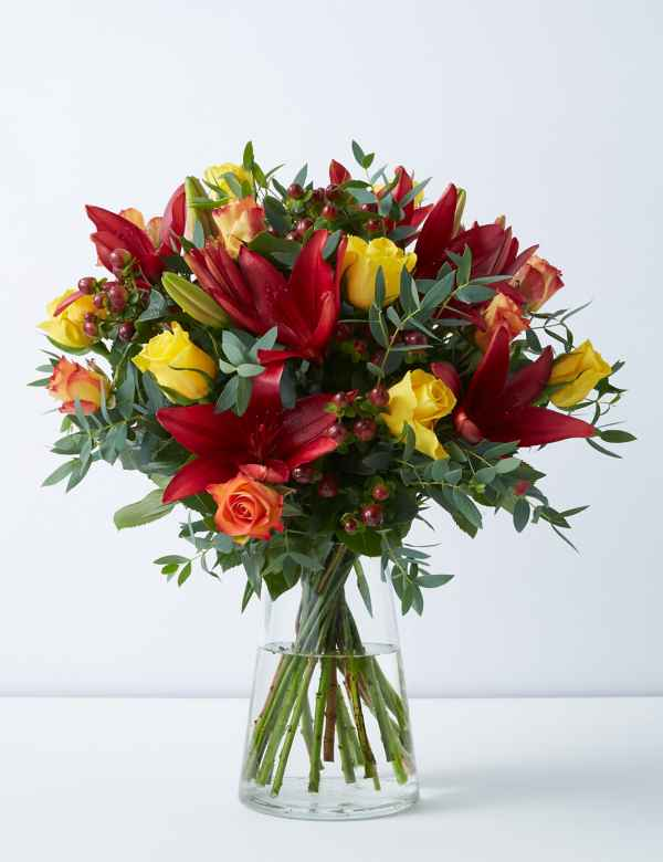 Christmas Wedding Bouquets Uk.Flowers Order Flowers For Next Day Delivery M S