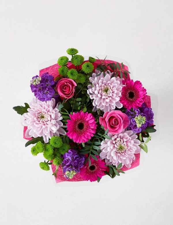 Pink Blush Flower Gift Bag | M&S