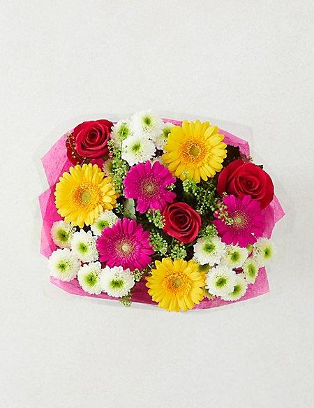 Autumn Brights Flower Gift Bag