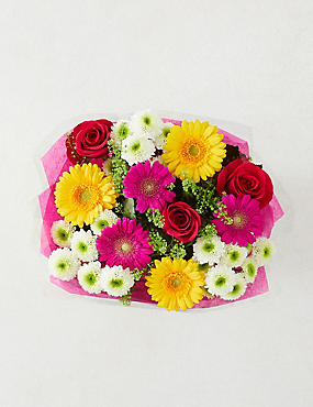 Autumn Brights Flower Gift Bag