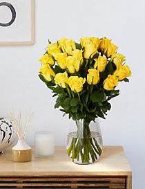 Fairtrade® Yellow Rose Bouquet
