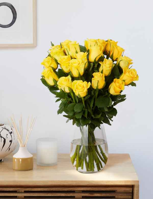cbc8b9e92c30b Fairtrade® Yellow Rose Bouquet. Free Delivery