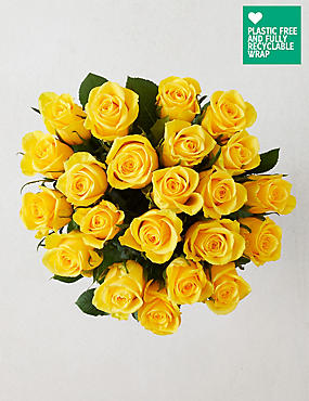 Fairtrade Yellow Rose Bouquet