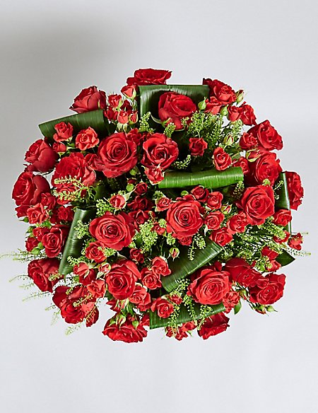 The Collection Red Rose True Love Bouquet