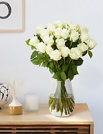 Fairtrade® White Rose Bouquet