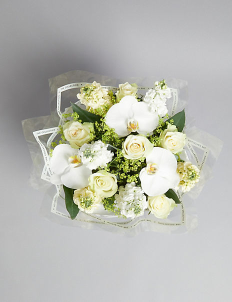 The Collection White Orchid Gift Bag