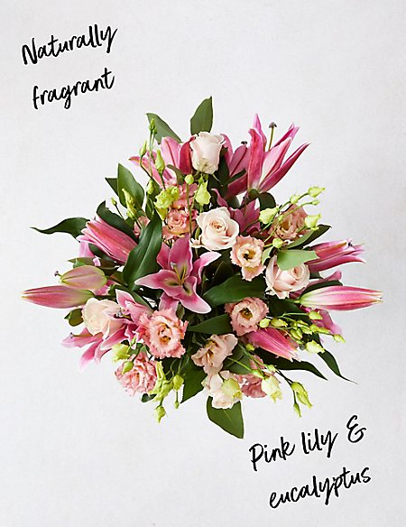 The Collection Lily & Lisianthus Bouquet
