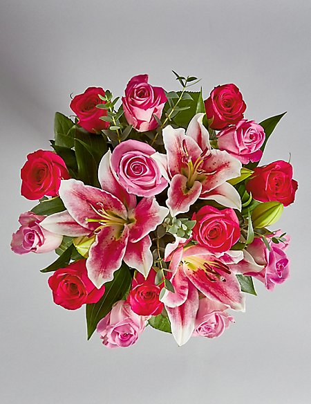 Rose & Lily Bouquet (Available until 2nd May)