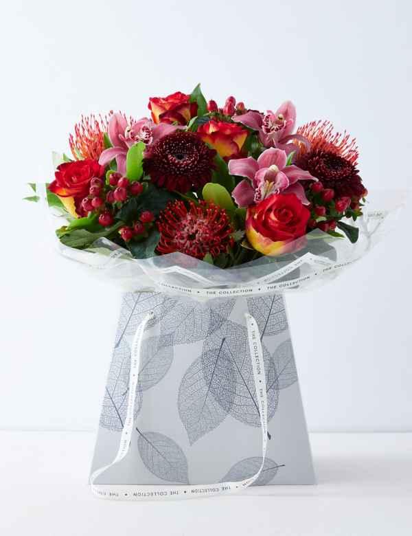 Flower Gift Bags Order Flowers Online M S