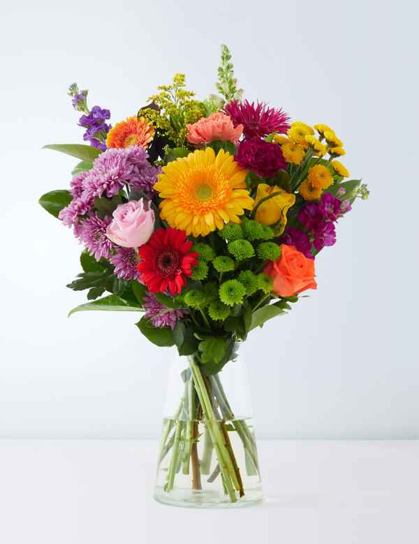 Christmas Wedding Bouquets Uk.Flowers Plants Online Free Uk Next Day Delivery M S