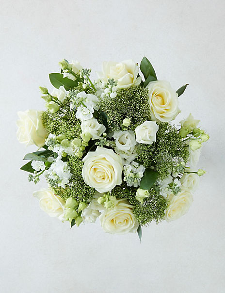 The Collection White Medley Bouquet